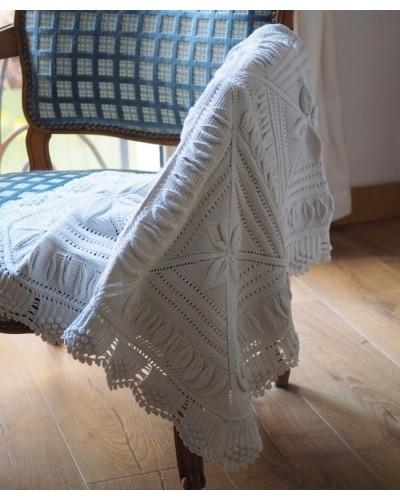 手編みクロシェのクロス