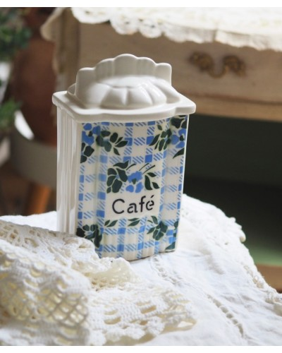 """キャニスター  """"Café"""""""