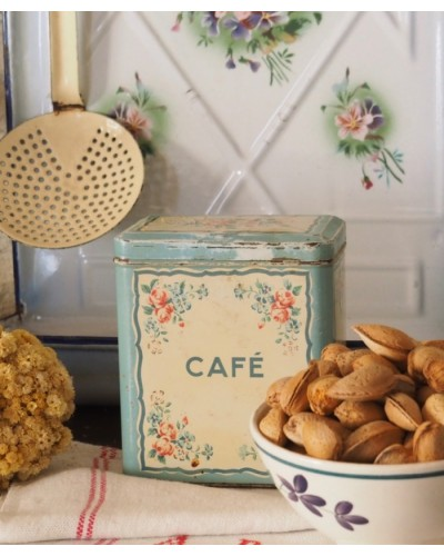 """ショコラメニエのティン缶 """"Café"""""""