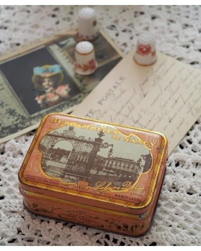Boite Bergamottes de Nancy