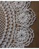 手編みの大きなアンティークドイリー クロシェ編み