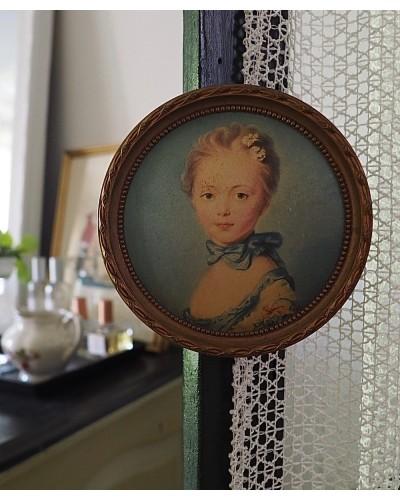 リメイクのメダイヨン(女性の肖像)