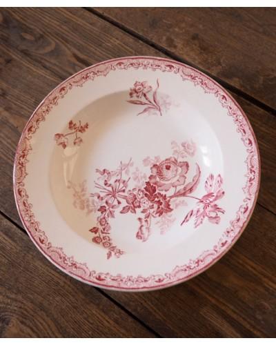 サルグミンヌのクルーズ皿「Fontanges」