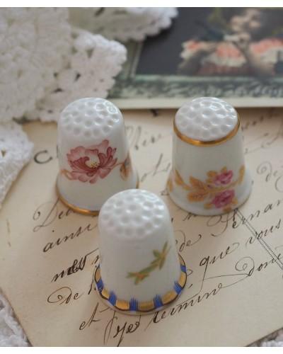 3個  アビランドの美しい指ぬき
