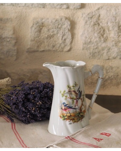 Pichet porcelaine de Limoges Jammet-Seignolles