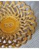 南仏ピションの黄釉のコルベイユ