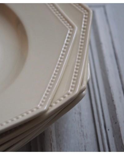 オクトゴナル&パールのデミクルーズ皿 サルグミンヌ