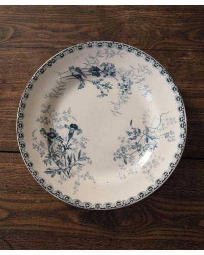 Assiette plates Hte Boulenger & Cie Choisy-Le-Roi (Roscoff)