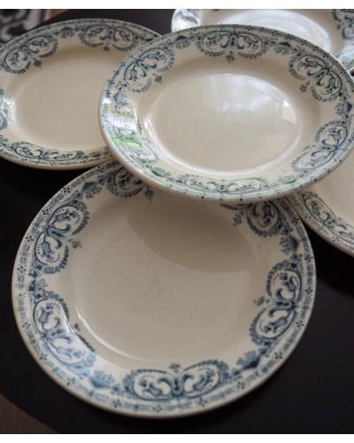 3枚組 Au Planteur de Caïffaのセミクルーズ皿