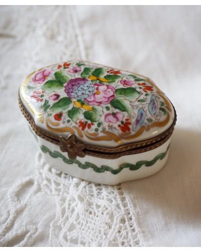 ジュエリーボックス  リモージュ陶器