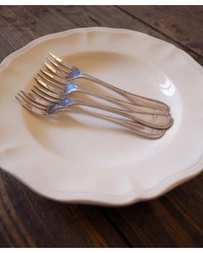 クリストフルのデザートフォーク「パール」2本セット
