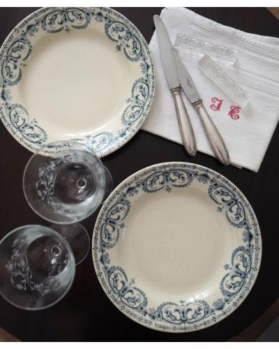 2枚組 Au Planteur de Caïffaのセミクルーズ皿