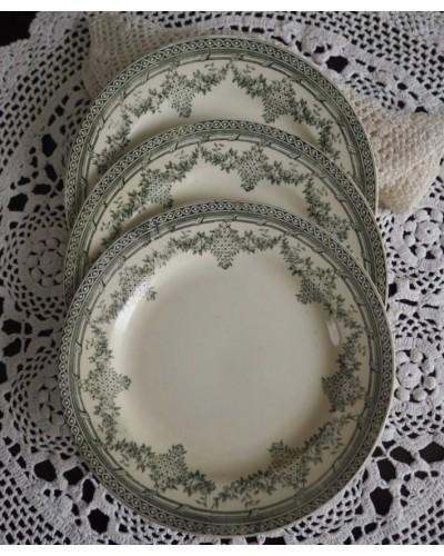 デザート皿「アントワネット」クレールフォンテーヌ窯