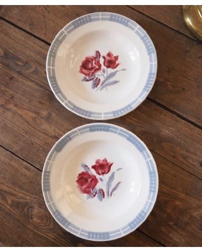 2枚組 クルーズ皿「Troyes」ディゴワン・サルグミンヌ