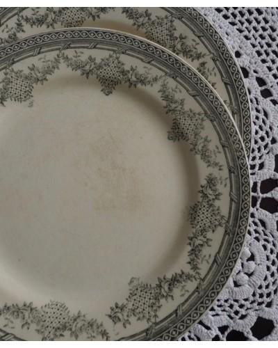 平皿「アントワネット」クレールフォンテーヌ窯