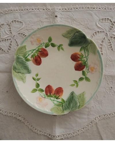 イチゴのバルボティーヌ皿 ショワジー・ル・ロワ HB & Cie