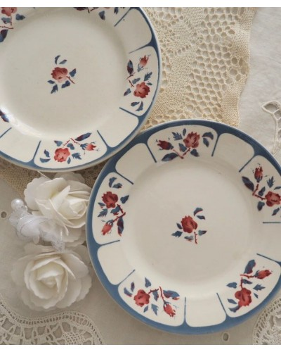 2枚組 ディゴワン・サルグミンヌ「NINETTE」デザート皿