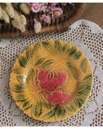 サクランボのバルボティーヌ皿 ディゴワン