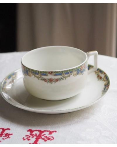 リモージュのカップ&ソーサー F.Legrand & Cie