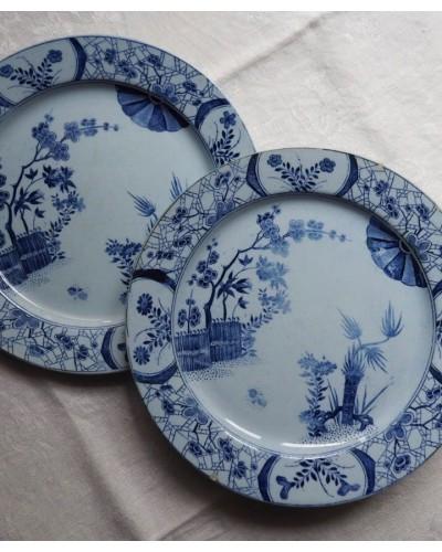 クレイユ・エ・モントローの平皿「ジャポン」