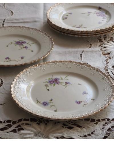 クレイユ・エ・モントローのデザート皿