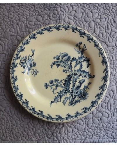 ジアンの平皿「Chardons」