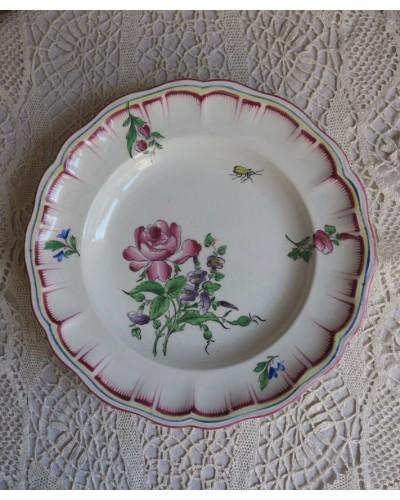 """リュネヴィルのクルーズ皿 """" Réverbère"""""""