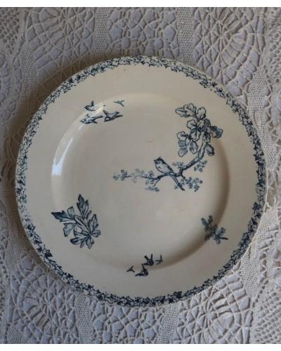 ショワジー・ル・ロワ HBC 鳥モチーフの平皿