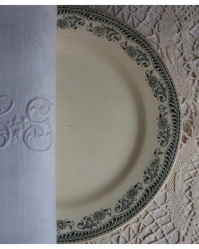 平皿「ムスティエ」サラン窯