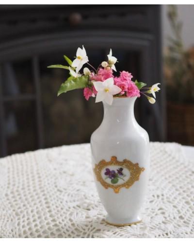 すみれの花瓶 リモージュ