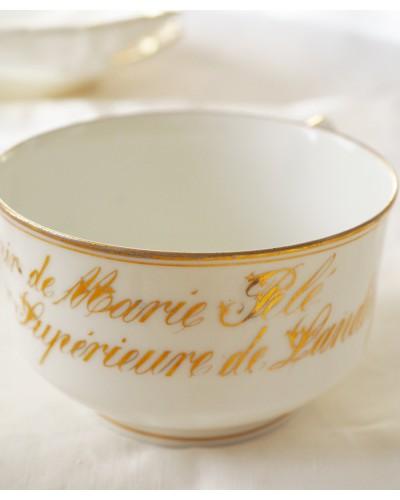 19世紀のショコラショーのカップ
